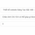 Hướng dẫn tích hợp Widget zalo Chat vào website wordpress