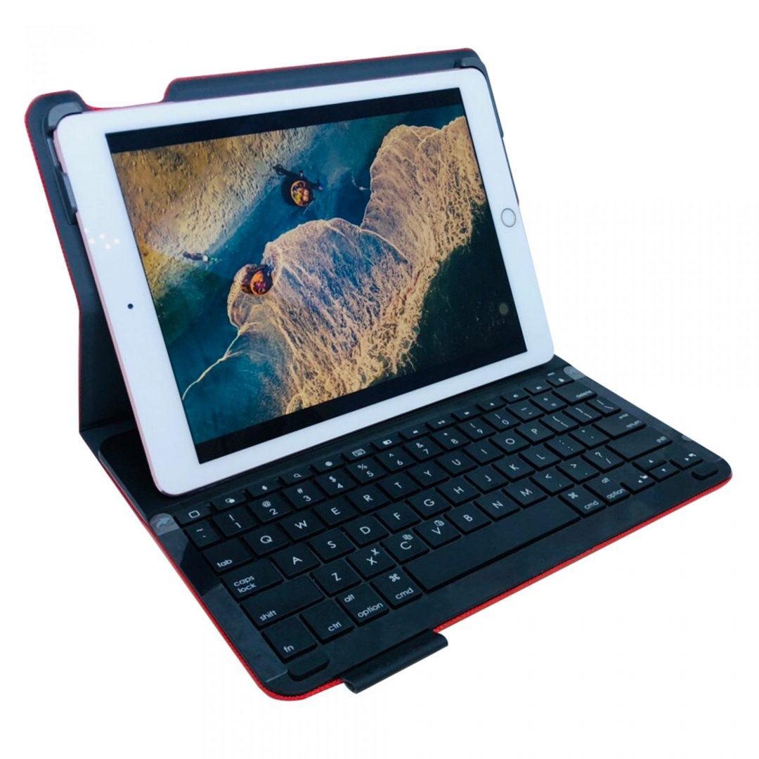 Bàn phím iPad Air 1Kiêm Bao Da Hiệu Logitech Type+