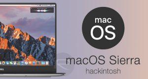 Hướng dẫn cài đặt Niresh macOS Sierra trên PC LAPTOP