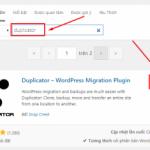 Chuyển host WordPress dễ dàng với plugin Duplicator
