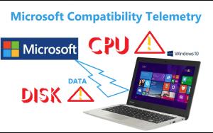 Microsoft Compatibility Telemetry – Vô hiệu hóa vấn đề ngốn CPU Disk