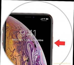 Cách mở nguồn iPhone XS Max – iPhone Xs, X