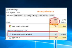 Antimalware service executable là gì – Cách khắc phục lỗi ngốn CPU