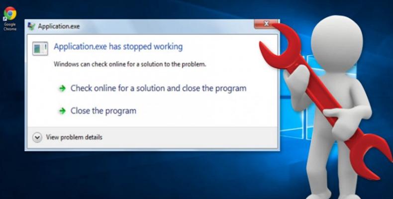 Cách khắc phục lỗi exe has stopped working trên Windows
