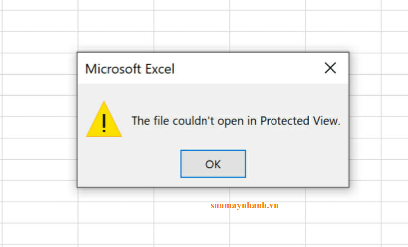 Sửa lỗi The file couldn't open in Protected View khi mở file Excel và Word
