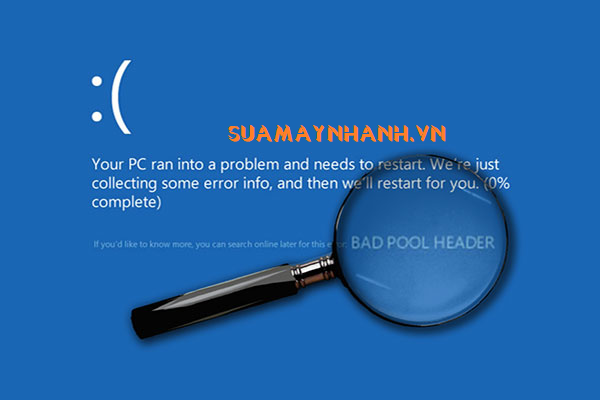 Khắc phục lỗi màn hình xanh Bad Pool Header trên Windows 10