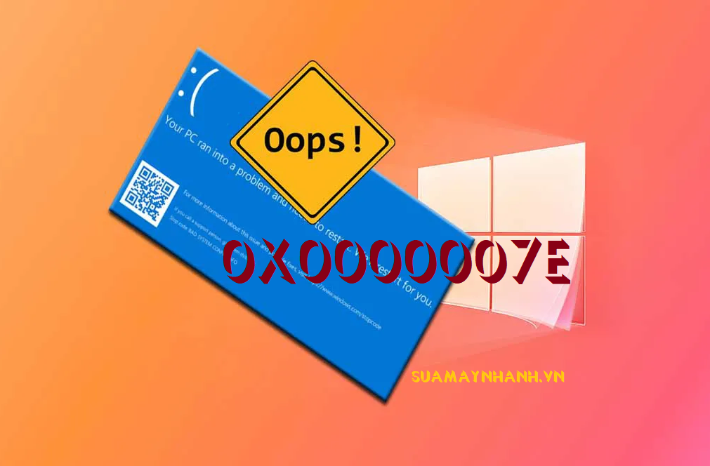 Cách khắc phục lỗi màn hình xanh 0x0000007E trên Windows 10