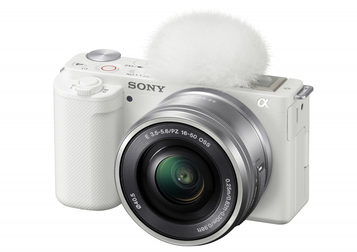 Sony ra mắt máy ảnh ống kính rời ZV-E10 dành cho các vlogger