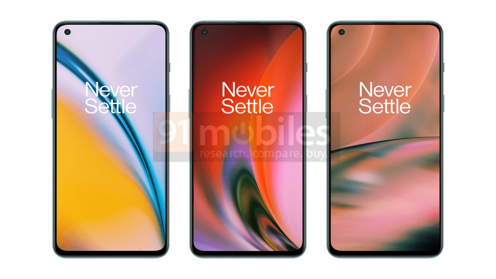 OnePlus Nord 2 để lộ ra nhiều màu sắc hơn