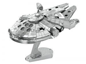 Câu đố 3D Cách lắp ráp Thay thế mô hình kim loại 3D Star Wars Millennium Falcon