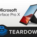 Microsoft Surface Pro X Teardown