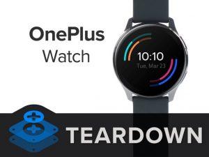 OnePlus Watch Teardown