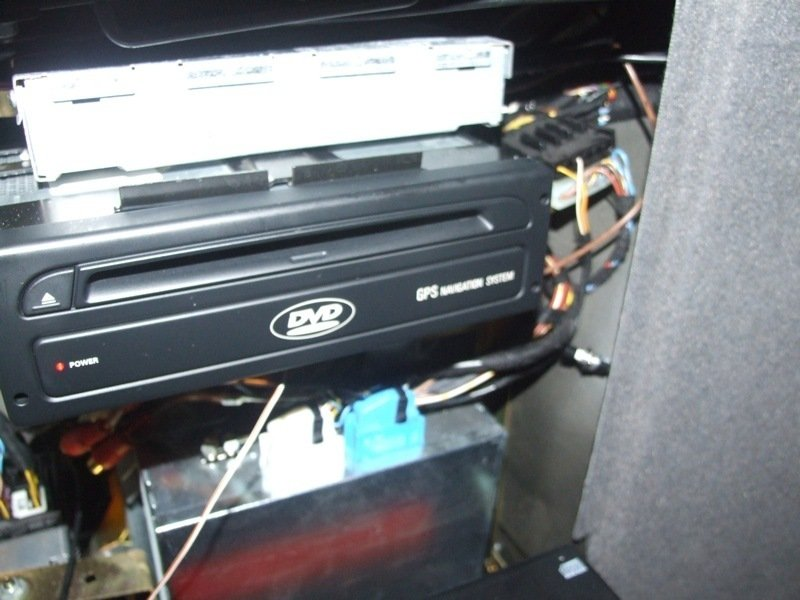 Thay Ổ đĩa CD hoặc DVD Máy tính Định vị BMW E39 E38 X5 E46