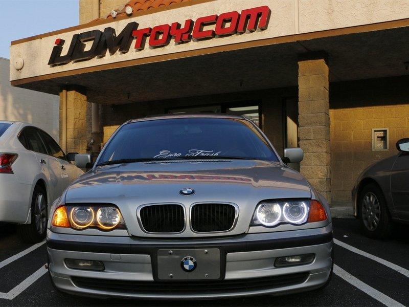 Làm thế nào để cài đặt BMW E46 3 Series Vòng đèn LED chuyển đổi