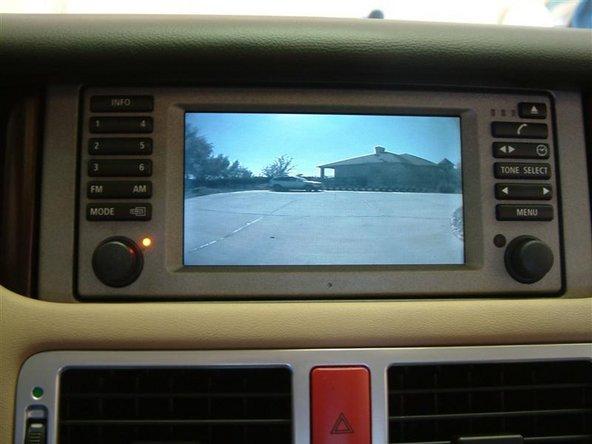 2000-2006 Thay thế Camera lùi BMW X5