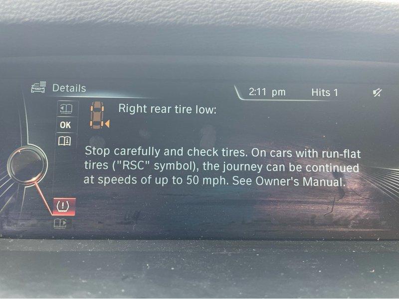 Cách khắc phục cảnh báo màn hình áp suất lốp thấp trên BMW X3 xDrive30i